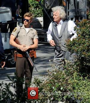 Ryan Kwanten and Rutger Hauer