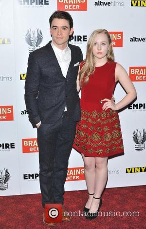 Jamie Blackley and Alexa Davies