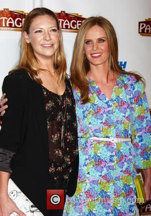 Anna Torv and Rebecca Mader - Opening night of