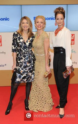 Ursula Karven, Eva Habermann and Lara Joy Kšrner - 'Goldene Bild Der Frau' Award 2013 at the Axel Springer Haus...
