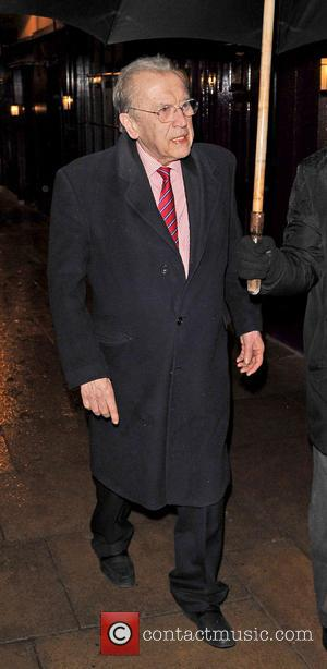 David Frost - Sir David Frost leaves private members club Loulou's - London, United Kingdom - Tuesday 12th March 2013