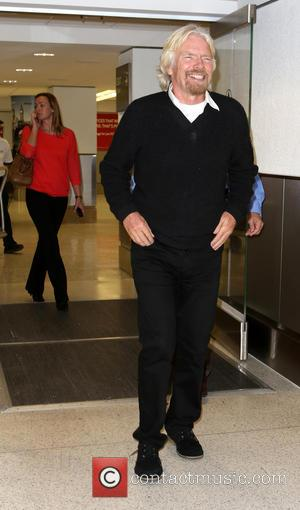 Richard Branson - Sir Richard Branson arriving at the Miami International hotel - Miami, Florida, United States - Tuesday 12th...