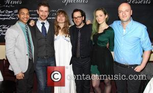 Clifton Moten, Alex Hanna, Annie Baker, Sam Gold, Louisa Krause and Matthew Maher