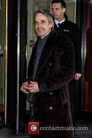 Jeremy Irons - TRIC Awards 2013