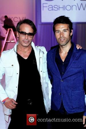 Lloyd Klein and Karim Barcelo - Style Fashion Week L.A. Spring/Summer 2013 - celebrity sightings - Los Angeles, California, United...