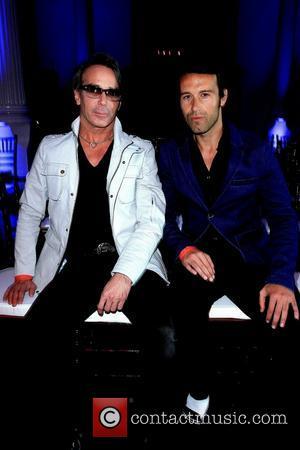 Lloyd Klein and Karim Barcelo - Style Fashion Week L.A. Spring/Summer 2013 - celebrity sightings - Los Angeles, California, United...