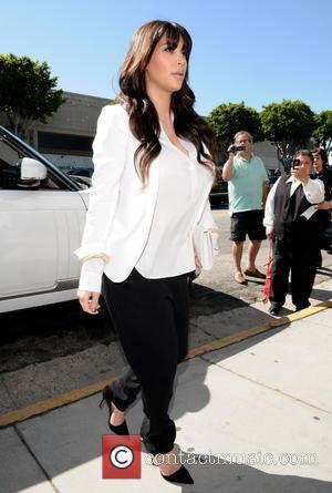 Kim Kardashian - The Kardashian sisters spotted at the Bel...