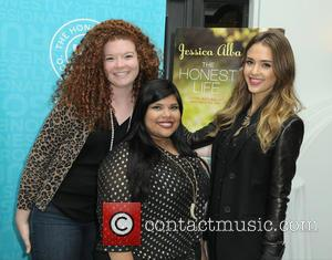 Jessica Alba, Allison Weiss and Wendy Godinez