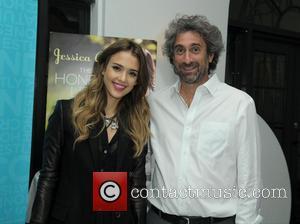 Jessica Alba and Mitchell Kaplan