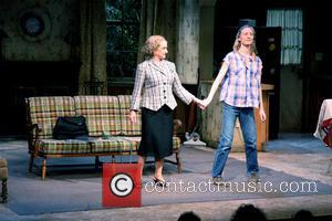 Carol Kane and Mickey Sumner - Carol Kane (as Bette Davis) and Mickey Sumner on stage during the opening night...