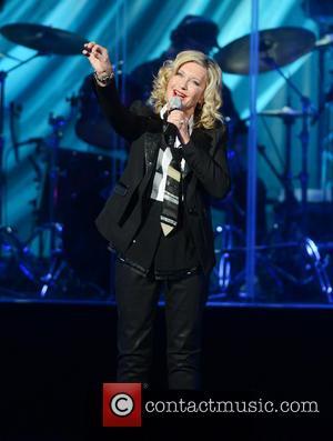 Olivia Newton-John - Olivia Newton-John performing live on stage at Royal Albert Hall - London, United Kingdom - Wednesday 13th...