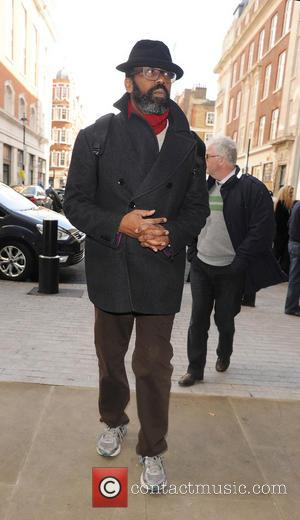 Lenny Henry - Celebrities at the BBC Radio 1 studios