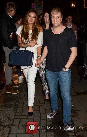 Jodi Albert and Kian Egan - The Voice of Ireland wrap party at No. 37 Dawson Street where contestants, hosts...