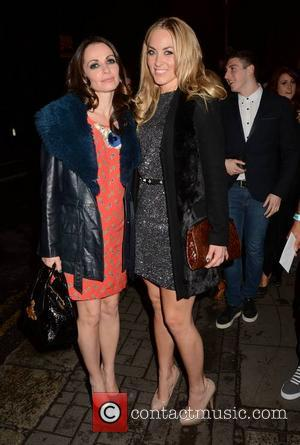 Sharon Corr and Kathryn Thomas - The Voice of Ireland wrap party at No. 37 Dawson Street where contestants, hosts...
