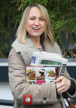 Carol McGiffin - Celebrities outside the ITV studios - London, United Kingdom - Thursday 14th March 2013