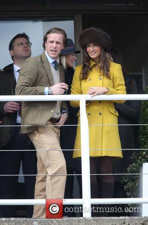 Pippa Middleton and Tom Kingston - Pippa Middleton attends Day Three of The Cheltenham Festival - Cheltenham, United Kingdom -...