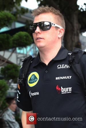 Kimi Raikkonen and Lotus-renault