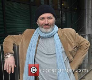 Tommy Tiernan - Comedian Tommy Tiernan at Today FM's Ray Darcy Show will Will Hanafin to promote tomorrow's National 'Hug...