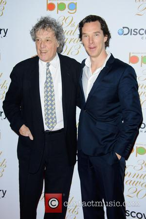 Tom Stoppard and Benedict Cumberbatch