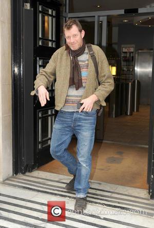 Jason Flemyng - Jason Flemyng leaving the BBC Radio 2 studios - London, United Kingdom - Thursday 14th March 2013