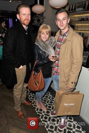 Tom Goodman-hill, Lauren Crace and Callum Callaghan