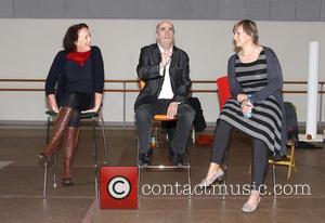 Fiona Shaw, Colm Torbin and Deborah Warner