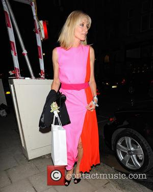 Joely Richardson - Celebrities leaving the Dior party at Harry's Bar - London, United Kingdom - Thursday 14th March 2013