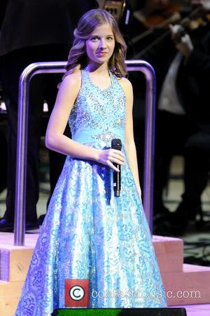 Jackie Evancho - Jackie Evancho performs at Roy Thomson Hall.