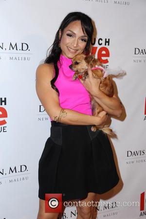 Mayte Garcia - Makeovers For Mutts Fundraiser - Beverly Hills, California, United States - Thursday 14th March 2013