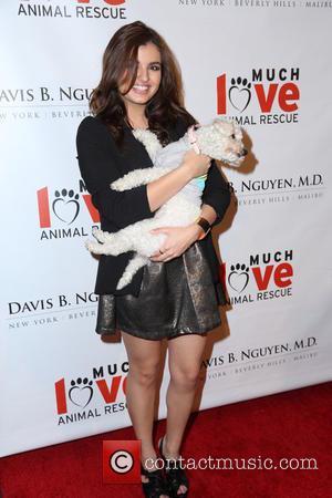 Rebecca Black - Makeovers For Mutts Fundraiser