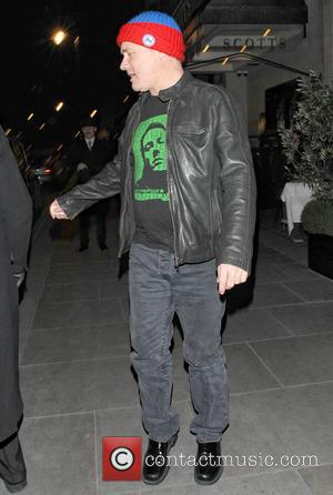 Damien Hirst - Celebrities at Scotts Restaurant - London, United Kingdom - Thursday 14th March 2013