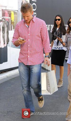 Sean Lowe - Sean Lowe shops at The Grove - Los Angeles, California, United States - Thursday 14th March 2013