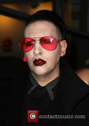 Marilyn Manson - The Los Angeles premiere of 'Spring Breakers' held at the Archlight Hollywood - Arrivals - Hollywood, California,...