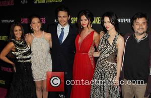 Vanessa Hudgens, Ashley Benson, James Franco, Selena Gomez, Rachel Korine and Harmony Korine