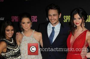 Vanessa Hudgens, Ashley Benson, James Franco and Selena Gomez