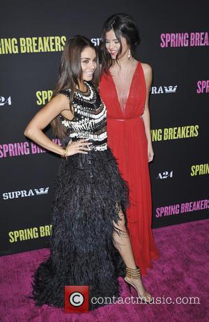 Selena Gomez, Vanessa Hudgens, Spring Breakers Premiere