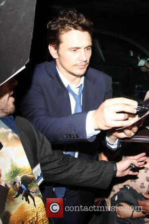 James Franco - Celebrities outside the 'Spring Breakers' after party...