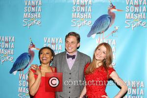 Shalita Grant, Billy Magnussen and Genevieve Angelson - After party for the Broadway premiere of 'Vanya and Sonia and Masha...