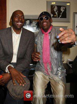 John Salley and Dennis Rodman - Celebrities attend the 'So You Think You Can Roast' held at the Friars Club...