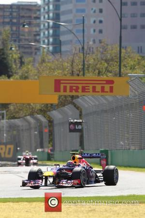Mark WEBBER and Australia -  Team Red Bull-Renault RB9 - AUSTRALIAN Formula One Grand Prix 2013, Albert Park...