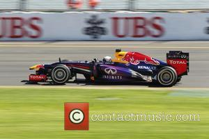 Sebastian VETTEL, Germany and Red Bull-Renault RB9 - AUSTRALIAN Formula One Grand Prix 2013, Albert Park  - Day 1...