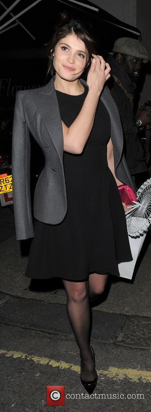 Gemma Arterton - Gemma Arterton leaving Harry's Bar in Mayfair. - London, United Kingdom - Friday 15th March 2013