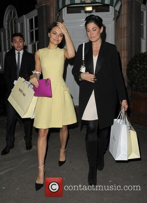 Samantha Barks - Samantha Barks leaving Harry's Bar in Mayfair. - London, United Kingdom - Friday 15th March 2013