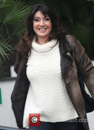Jane McDonald - Celebrities at the ITV studios - London, United Kingdom - Friday 15th March 2013
