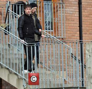 Killian Scott - Celebrities filming season four of TV show 'Love/Hate' - Dublin, Ireland - Friday 15th March 2013