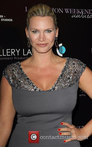 Natasha Henstridge - LA Fashion Weekend Fall/Winter 2013 featuring Ermelinda Designs 'Maison de Urbana' by Urbana Chappa - Los Angeles,...