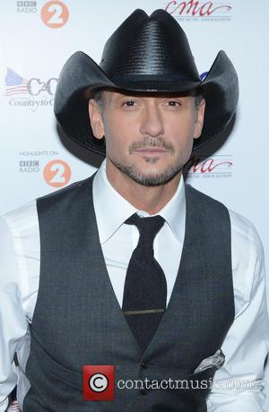 Tim McGraw - Photo call for