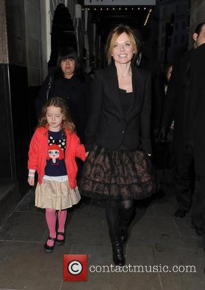 Geri Halliwell and Bluebell