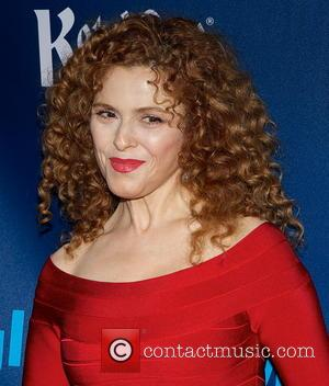 Bernadette Peters - 24th Annual GLAAD Media Awards held at New York Marriott Marquis - Arrivals - New York City,...