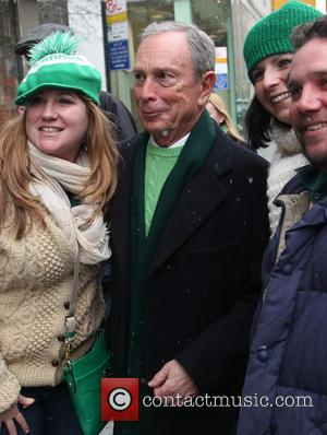 Mayor Michael Bloomberg - Mayor Michael Bloomberg heads to Viand after St.Patrick's Day Parade in Manhattan - New York, New...